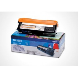 Brother TN 328 C, Original toner