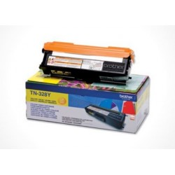 Brother TN 328 Y, Original toner