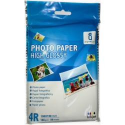 Fotopapir, 180 gr. glossy, 50 ark 4R