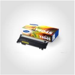 Samsung CLT Y 404S Yellow, Original Toner