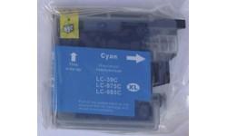 LC 985 C, blå, kompatibel patron