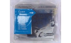 LC 970 C, blå, kompatibel patron