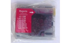 LC 970 M, rød, kompatibel patron