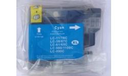LC 980 C, blå, kompatibel patron