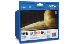 Brother LC 1100 Value, BK,C,M,Y, Original Patroner