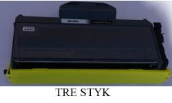 3 stk. TN 2120 BK, kompatible tonere