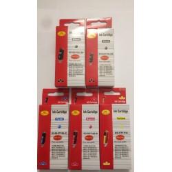 Sæt (5 stk) PGI 570XL BK og CLI 571XL BK,C,M og Y, Kompatible blækpatroner