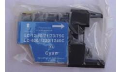 LC 1240XL Cyan, kompatibel patron