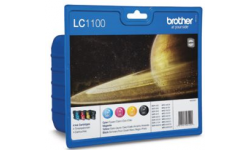 Brother LC 1100 Value, BK,C,M,Y, Original Patroner