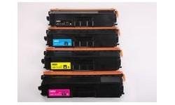 TN 321 sæt - 4 stk. - BK,C,M,Y - kompatible lasertoner